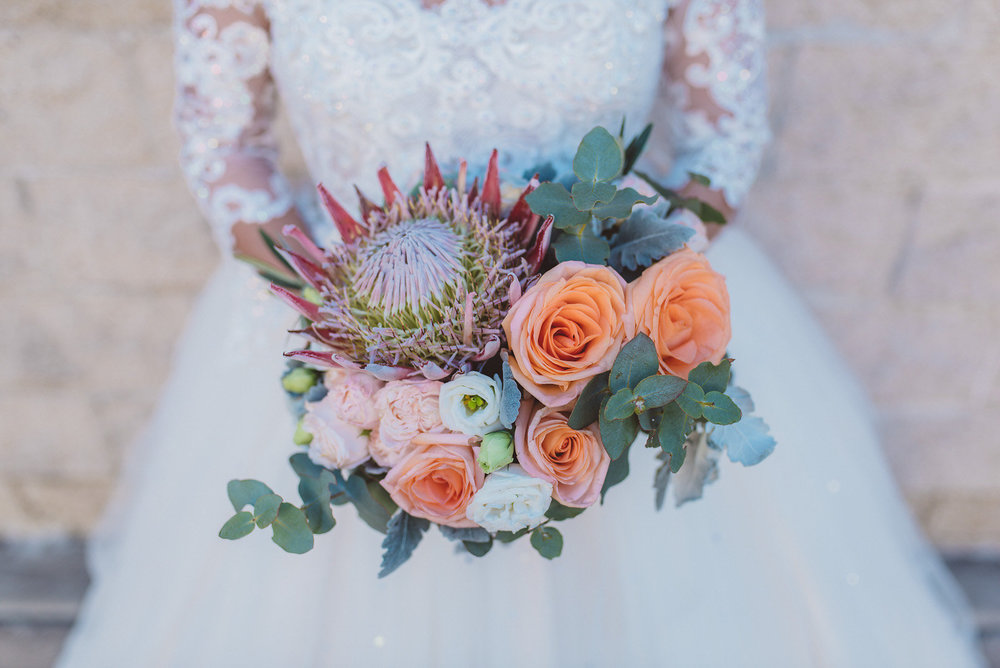 King protea bridal bouquet.jpg
