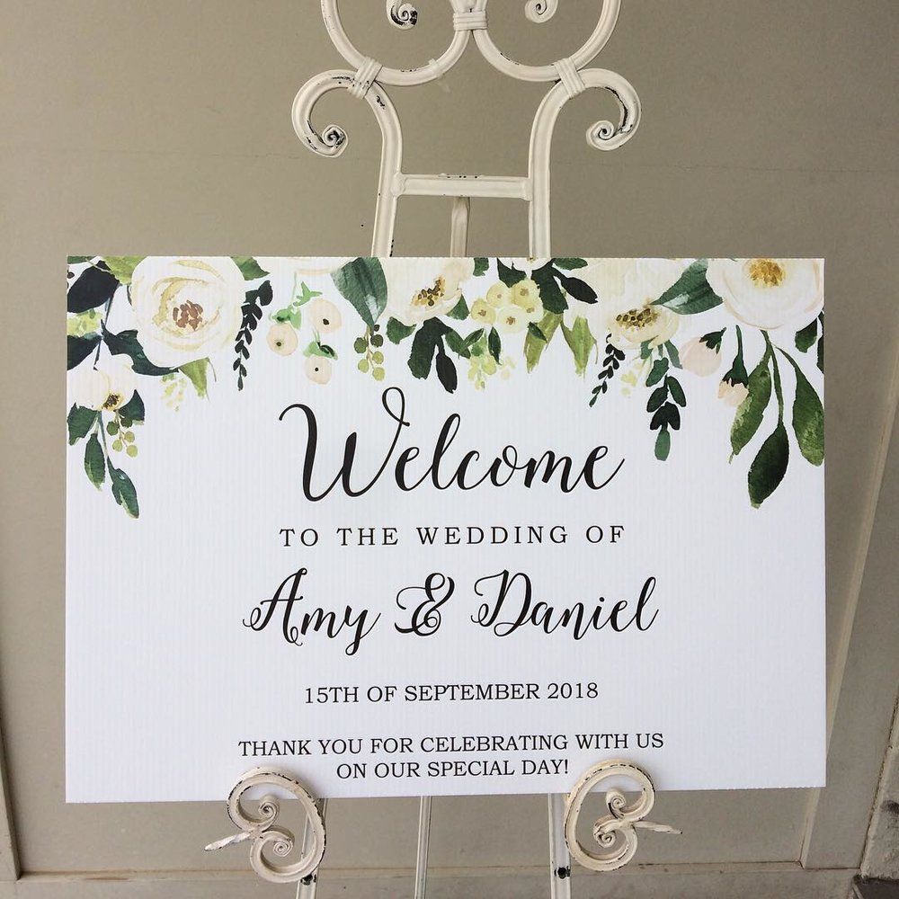 Wedding welcome sign Sydney.jpg