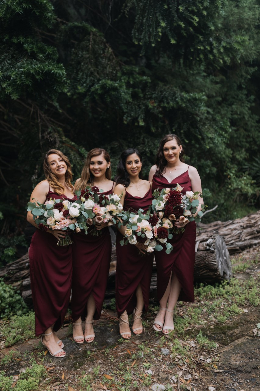 Burgundy bouquets for wedding bridesmaids.jpg