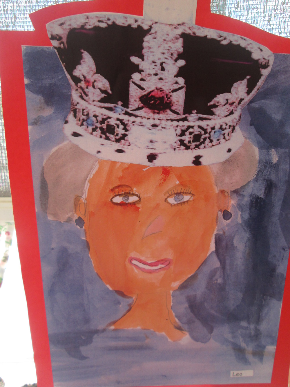 Happy Birthday Your Majesty.  We have painted a portrait of you wearing the Imperial State crown