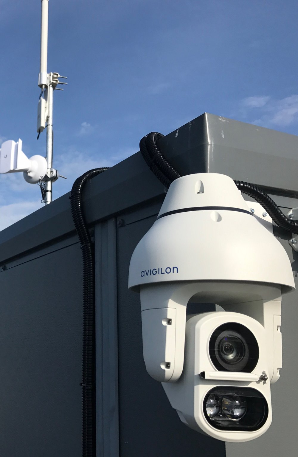 Avigilon H4 PTZ with analytics from Usee.ie