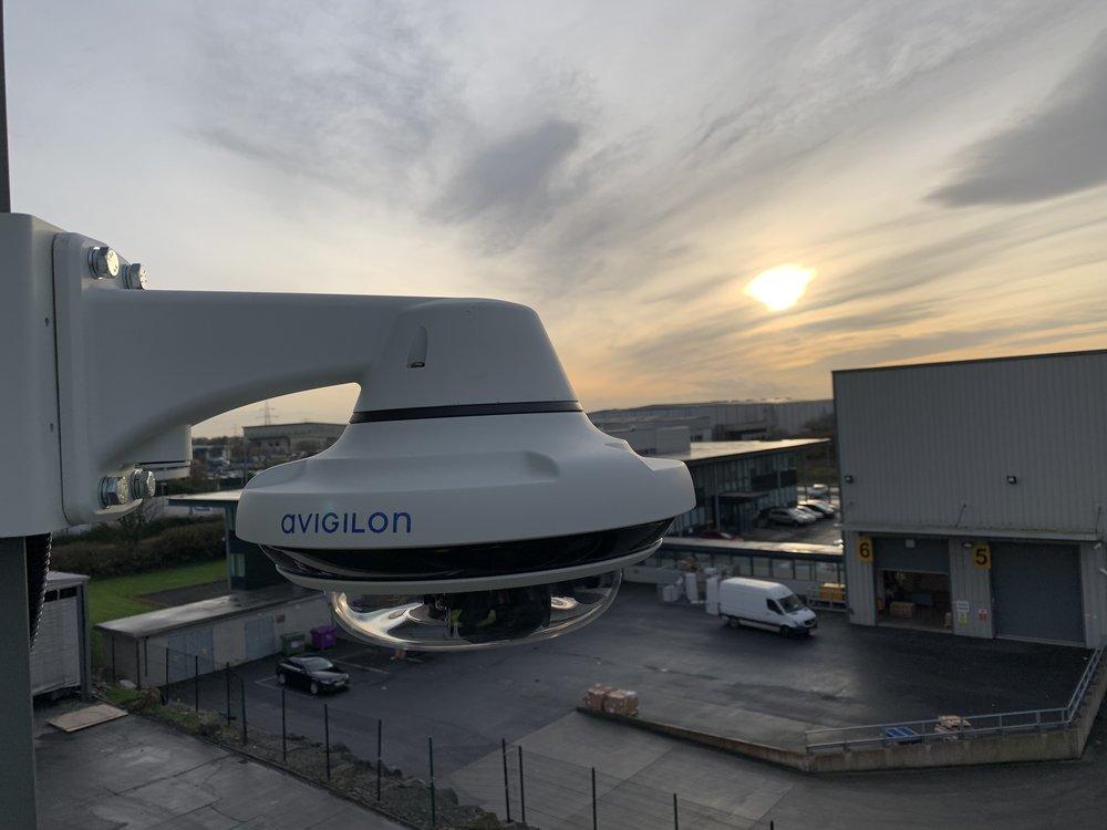 Avigilon multisensor on winter solstice 2018