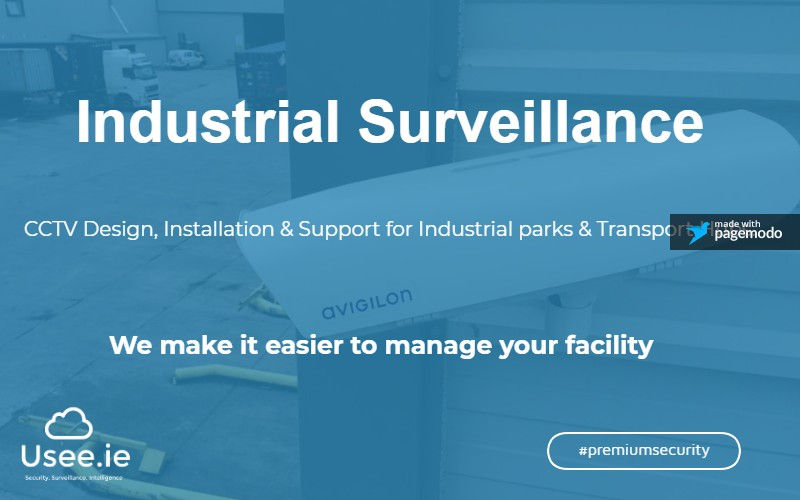 Industrial CCTV by Usee.ie
