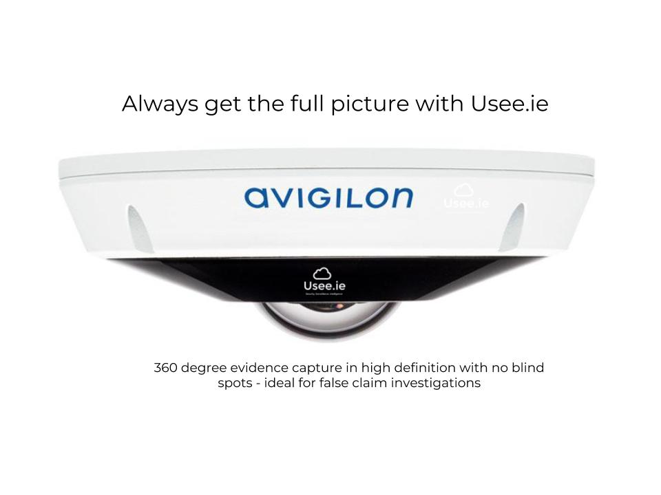 avigilon high definition CCTV by Usee.ie