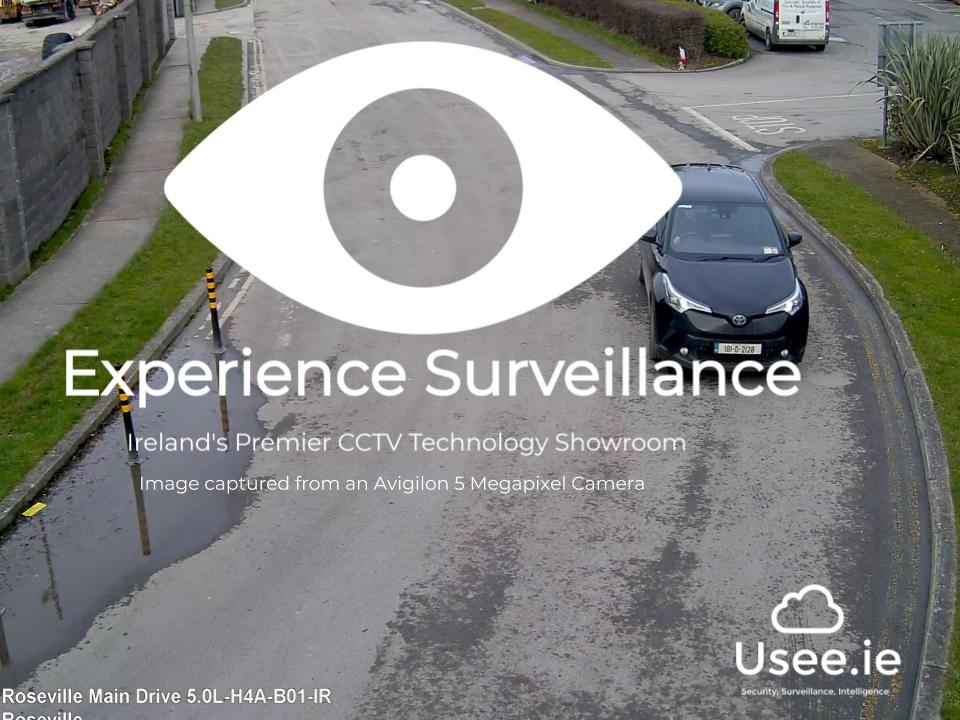 Avigilon CCTV in Experience Surveillance by Usee.ie