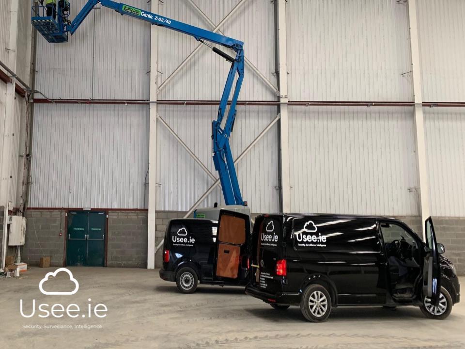 Industrial CCTV by Usee.ie
