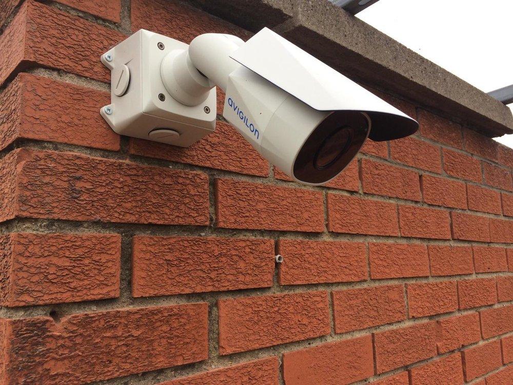 Usee.ie HD CCTV camera powered by Avigilon