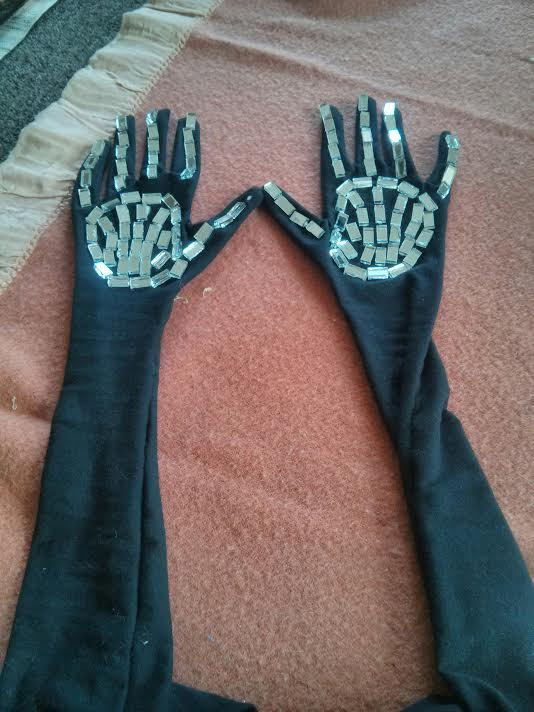 Mirror Gloves, 2017 (for The Demon Under the Bed)