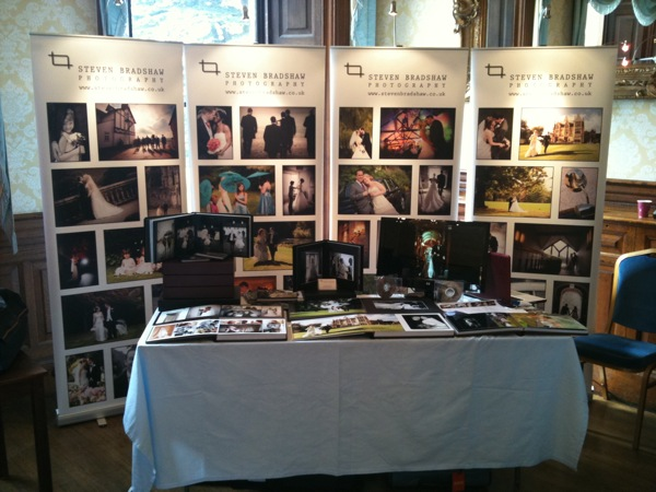 Wedding Exhibition Stand : My posh new exhibition stand — steven bradshaw wedding