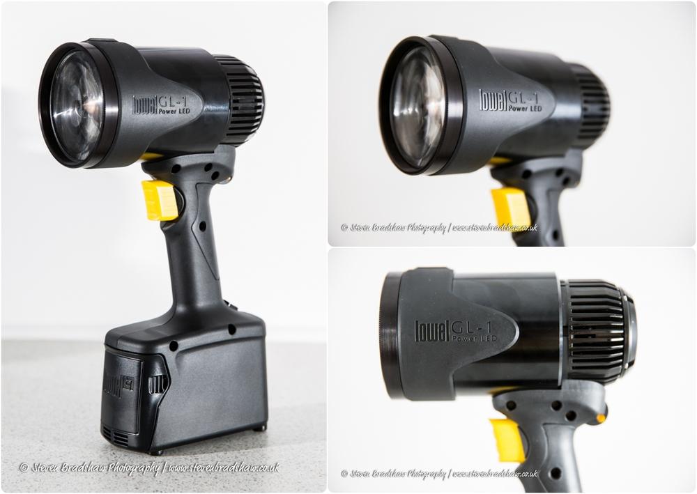 The Lowel GL1 LED Hotlight