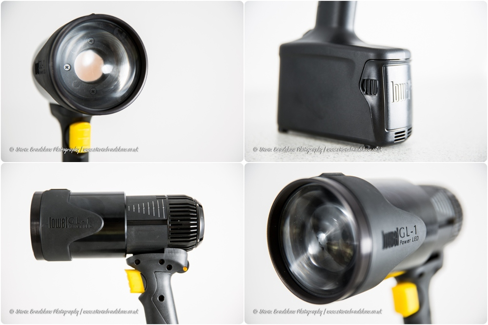 Lowel GL1 LED Hotlight.