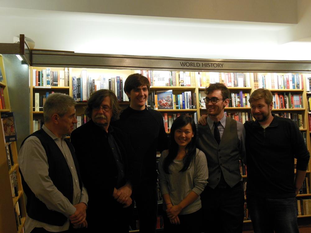 Left to right: Peter Breiner, Vladimír Godár, Nathaniel LaNasa, Maria Im, Colin Stokes, Taylor Davis-Van Atta. Photo: Katarina Godár