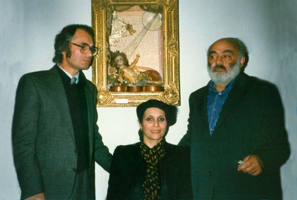 Tigran Mansurian, Araks Mansurian, and Sergei Parajanov