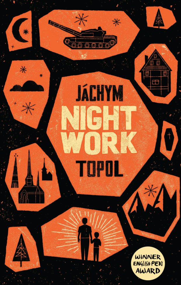Nightwork    by  J    á    chym Topol    translated by  Marek Tomin    (Portobello, May 2014)    Reviewed by  Andrew Marzoni