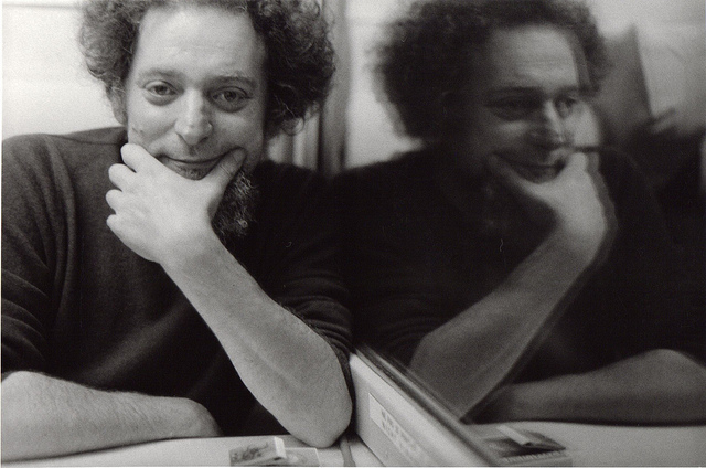 Georges Perec, self-portrait in mirror