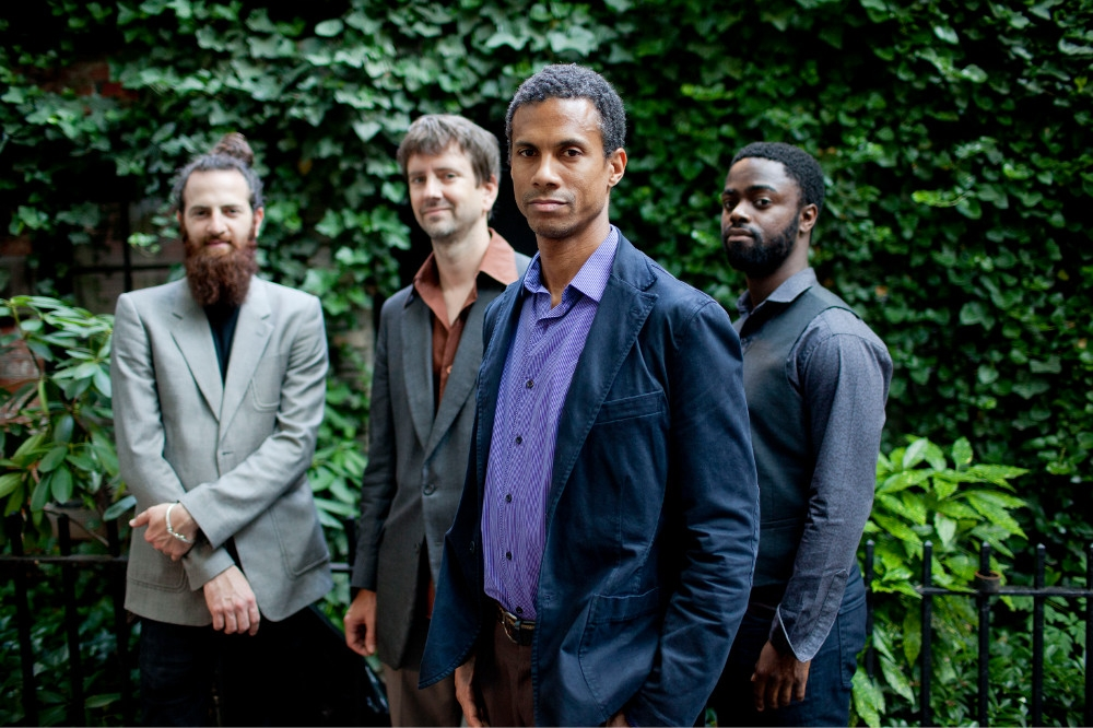 From left to right: Avishai Cohen, Joe Martin, Mark Turner, Marcus Gilmore. Courtesy John Rogers / ECM Records.