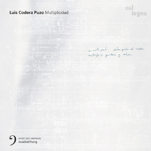 Multiplicidad by Luis Codera Puzo Sarah Maria Sun (voice) Ensemble Modern ensemble recherche UMS 'n JIP CrossingLines Clemens Heil, Mariano Chiacchiarini, Luis Codera Puzo (conductors) (Col Legno, October 2014) Reviewed by Liam Cagney