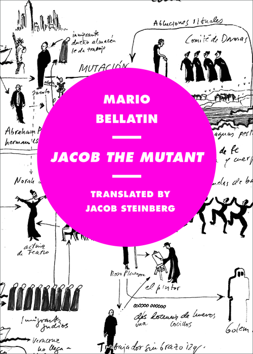 Jacob the Mutant     by  Mario Bellatin  trans.  Jacob Steinberg  (Phoneme Media, April 2015)    Reviewed by  Heather Cleary