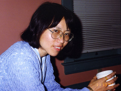 Can Xue at the University of Iowa, 1992