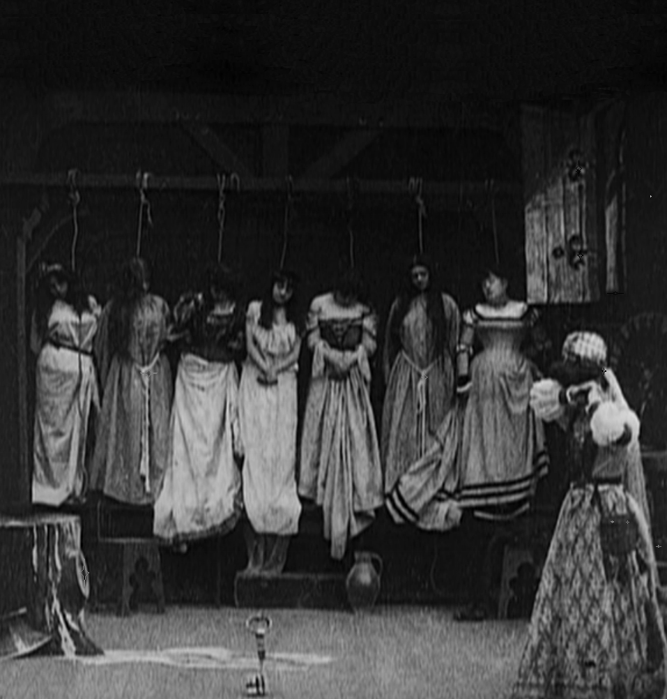 Still from Georges Méliès's 1901 silent film Barbe-bleue