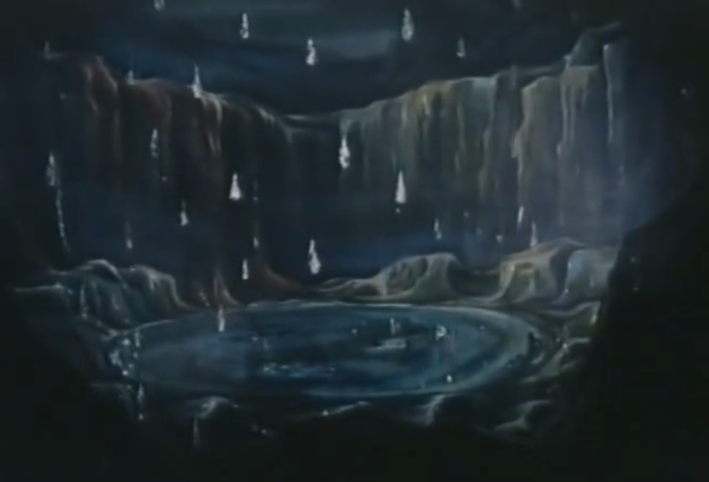 """Lake of tears"" scene from Michael Powell's 1963 television adaptation of Bartók's Duke Bluebeard's Castle"