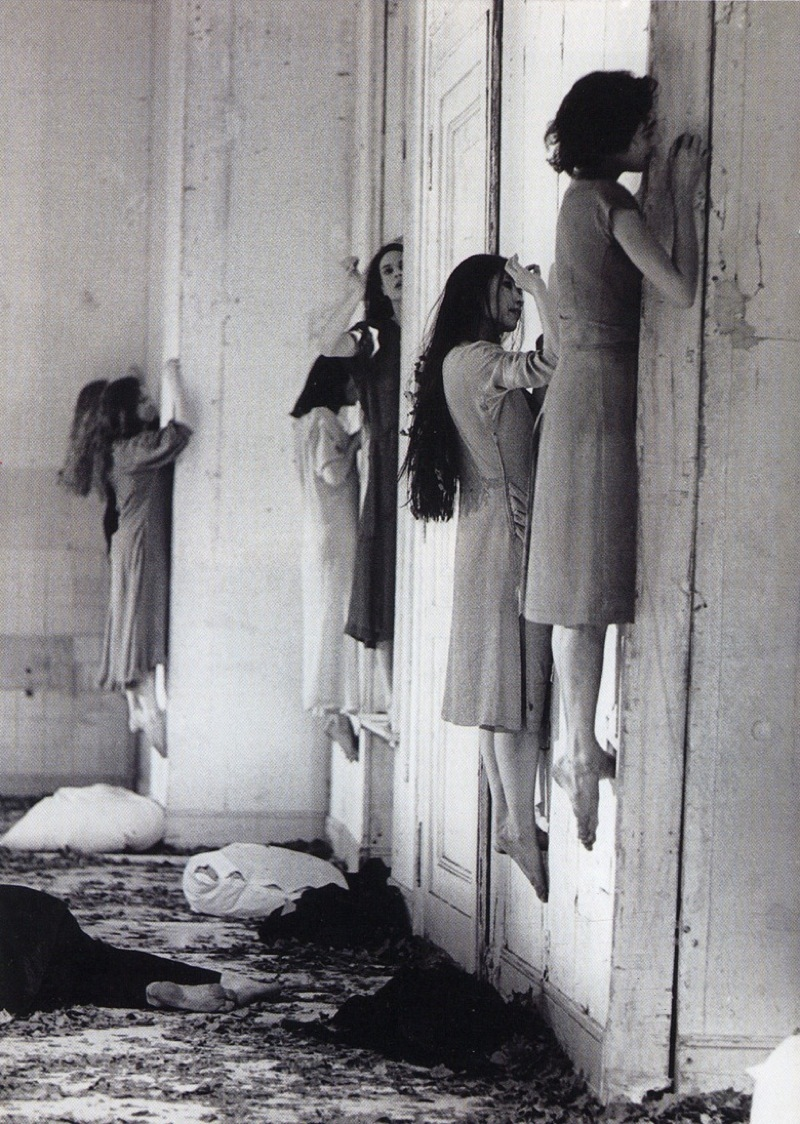 Still from  Blaubart , Pina Bausch's 1977 adaptation of  Bartók's opera