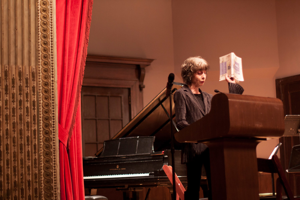 "Deborah Eisenberg reads from ""A Story about How Stories Come to Be Written,"" by Dubravka Ugrešić."