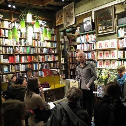 Paris Launch of  Music & Literature  no. 5 at Shakespeare & Company Bookstore