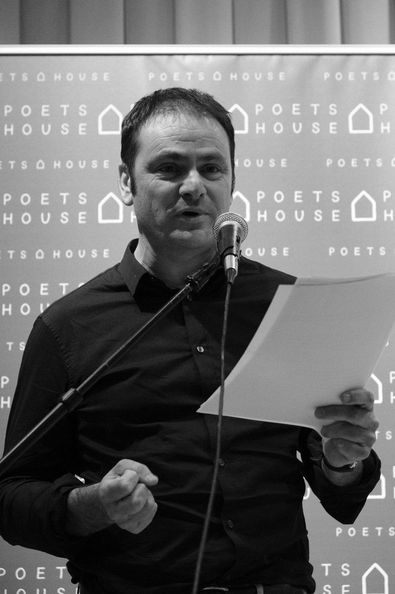 Éric Chevillard reads from a work of short fiction