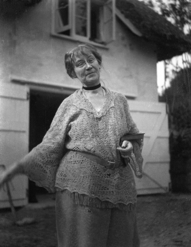 Dorothy Bussy, photographed by Rachel 'Ray' Strachey in 1923