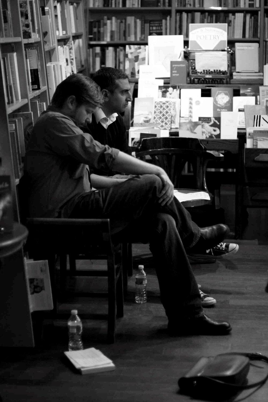 Music & Literature  editors Daniel Medin and Taylor Davis-Van Atta