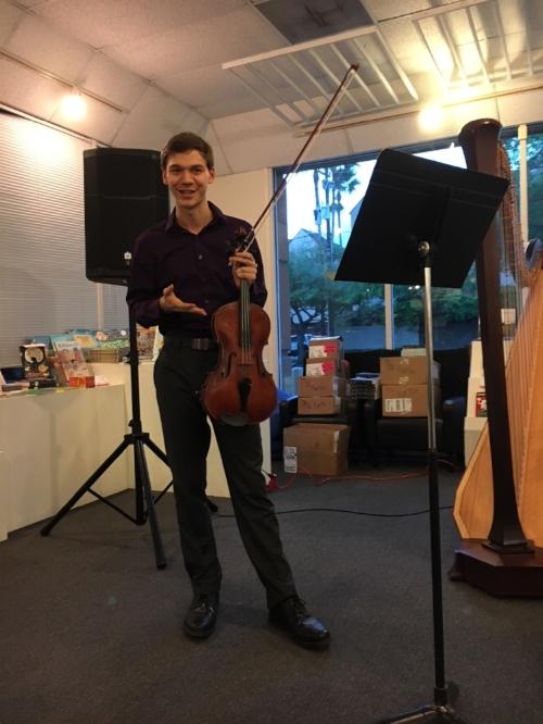 Sebastian Stefanović discusses Ligeti prior to his performance of the Viola Sonata