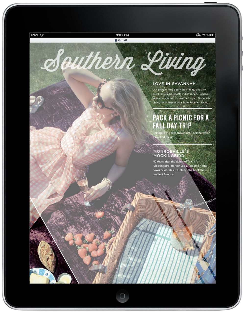 Ordinaire This Redesign Of Southern Living Magazine, Brings A Rich, Colorful, And  Contemporary Take On This Classic Lifestyle Magazine. Designed These  Layouts First ...