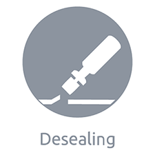 Desealing  - Sealant Removal - Adhesive Removal