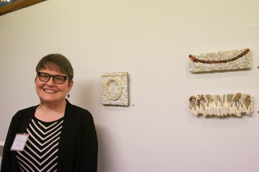 MSoP's own Carol Stirton Broad, one of the featured artists.