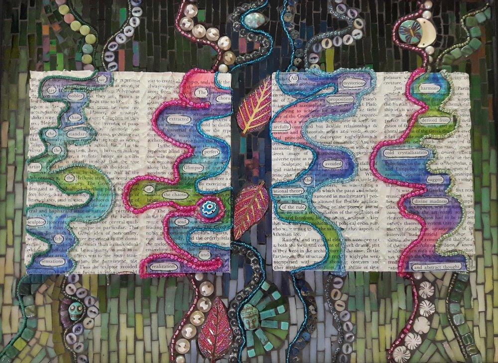 """Image: Carol Rydel, """"4 Poems"""""""