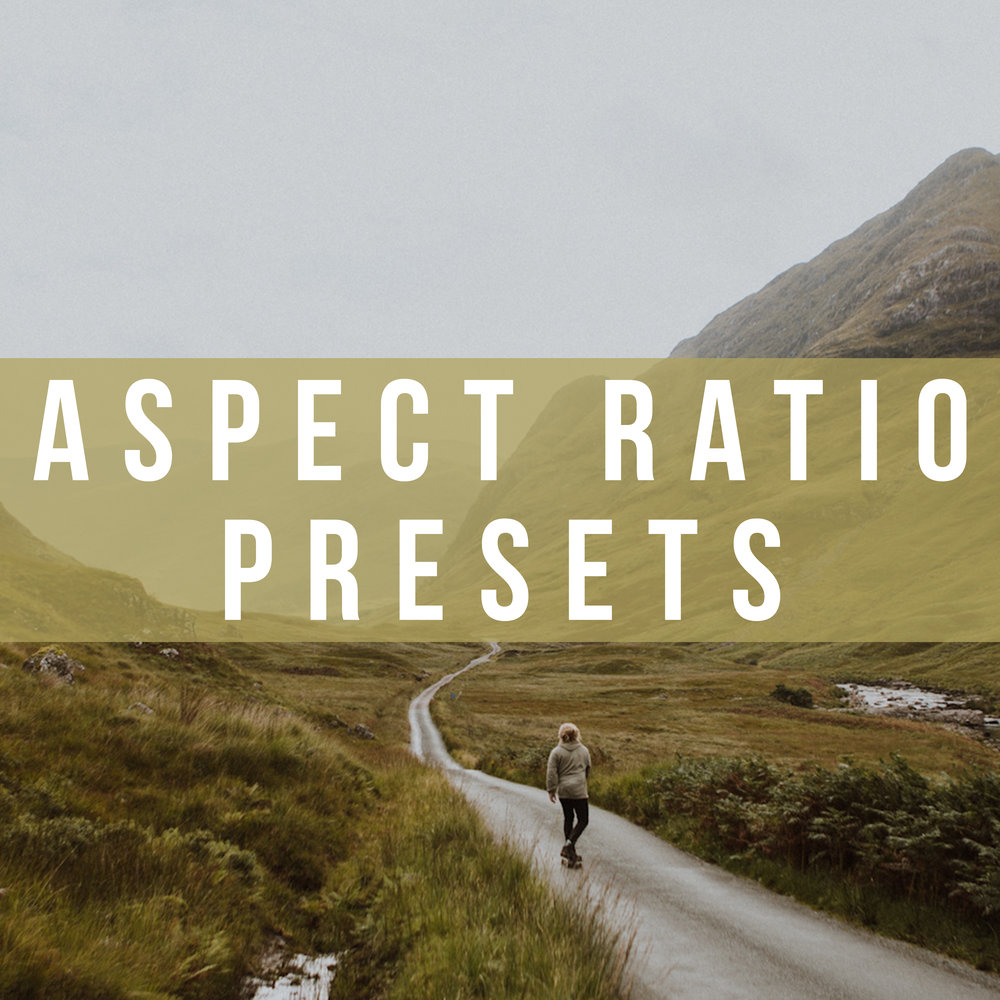 PREMIERE PRO // ASPECT RATIO PRESETS (FREE DOWNLOAD) -