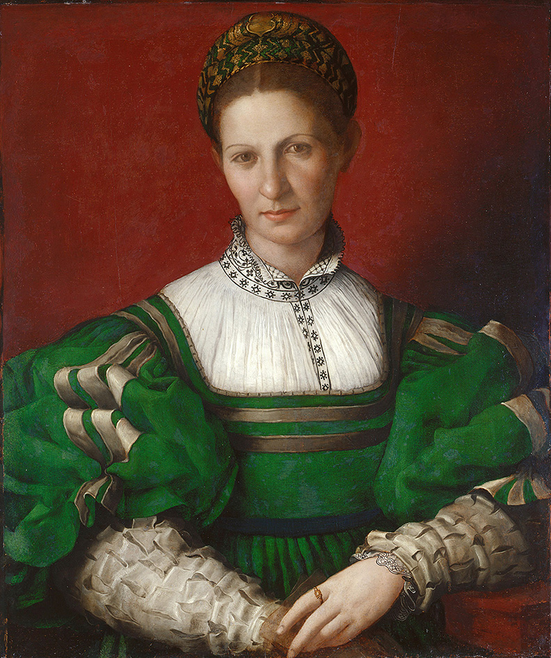 16_Portrait Of A Lady In Green