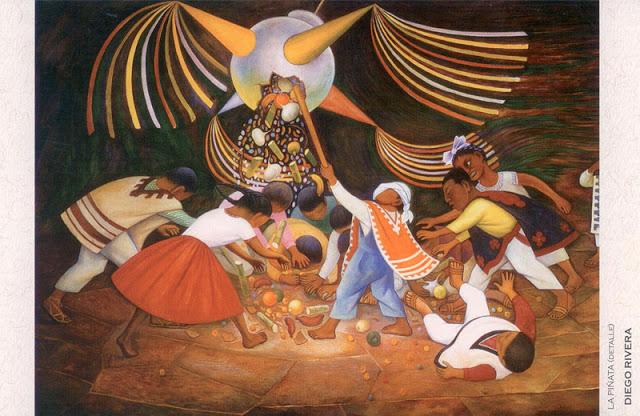 Diego Rivera- La Pinata