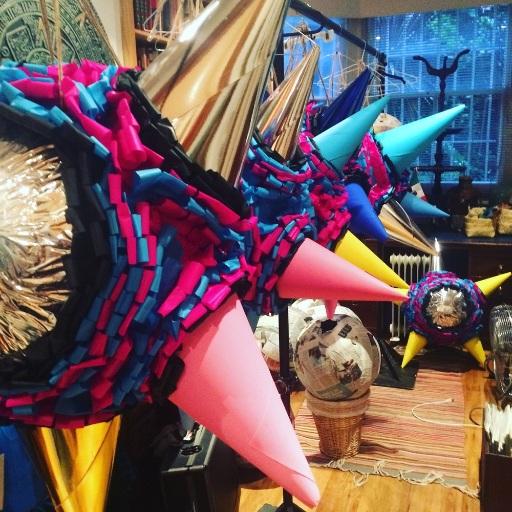 """Thanks so much, the piñatas look stunning!"" -  Paola Feregrino-Rodriguez (Wahaca)"
