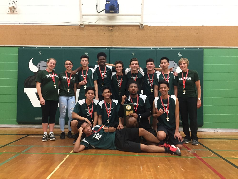 Boys Volleyball Tier 2 East Region Champions