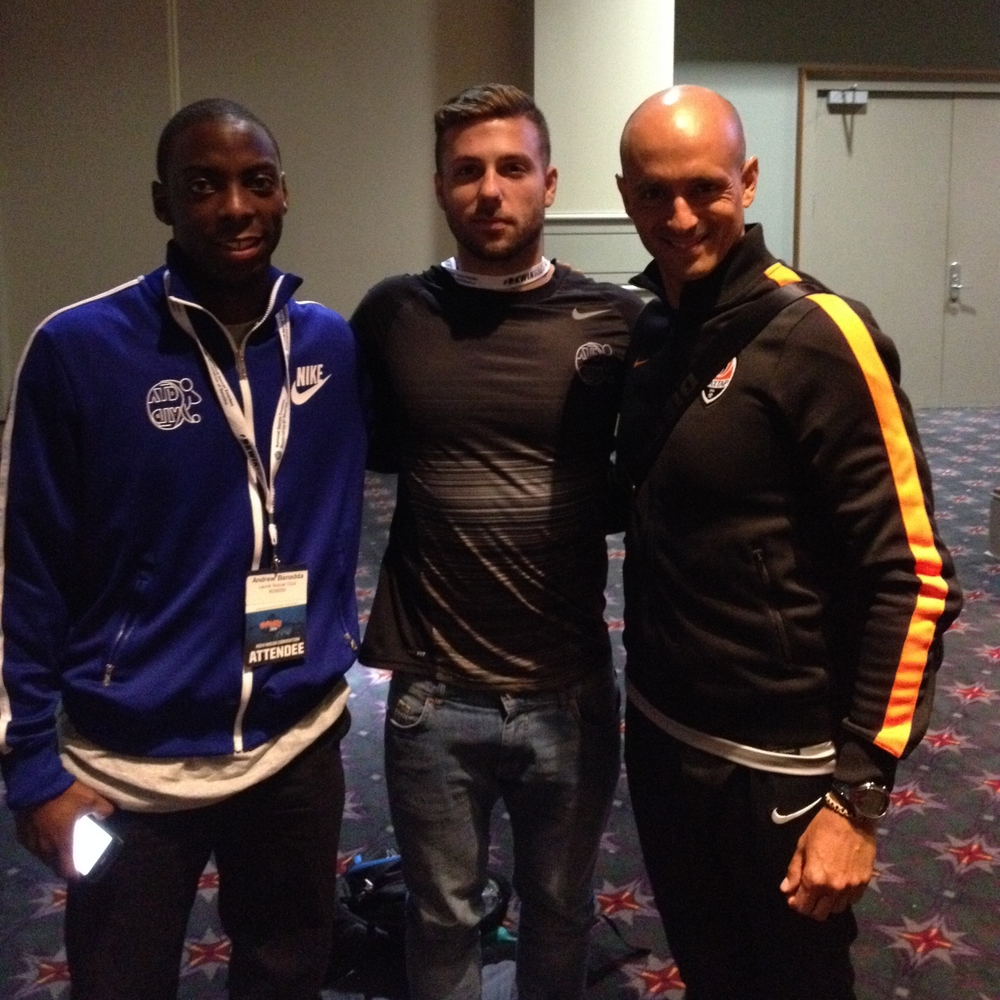 With Miguel Cardoso, Shakhtar Donetsk Technical Director and Reserve Team Head Coach