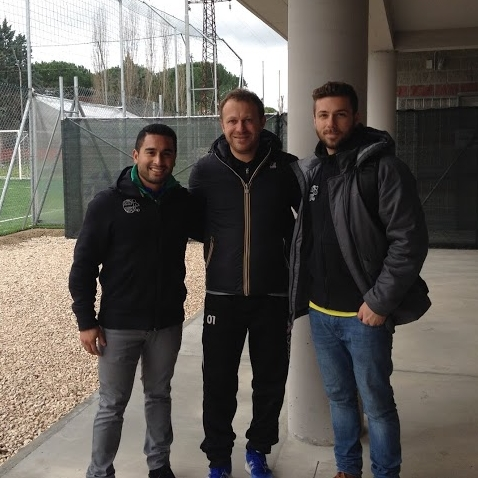 ATD Staff with Roberto Breda, Head Coach U.S. Latina Calcio