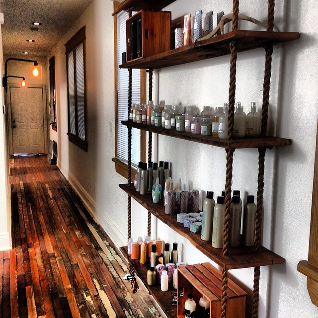 Davines. Our line of amazing products. Come in and try them out!