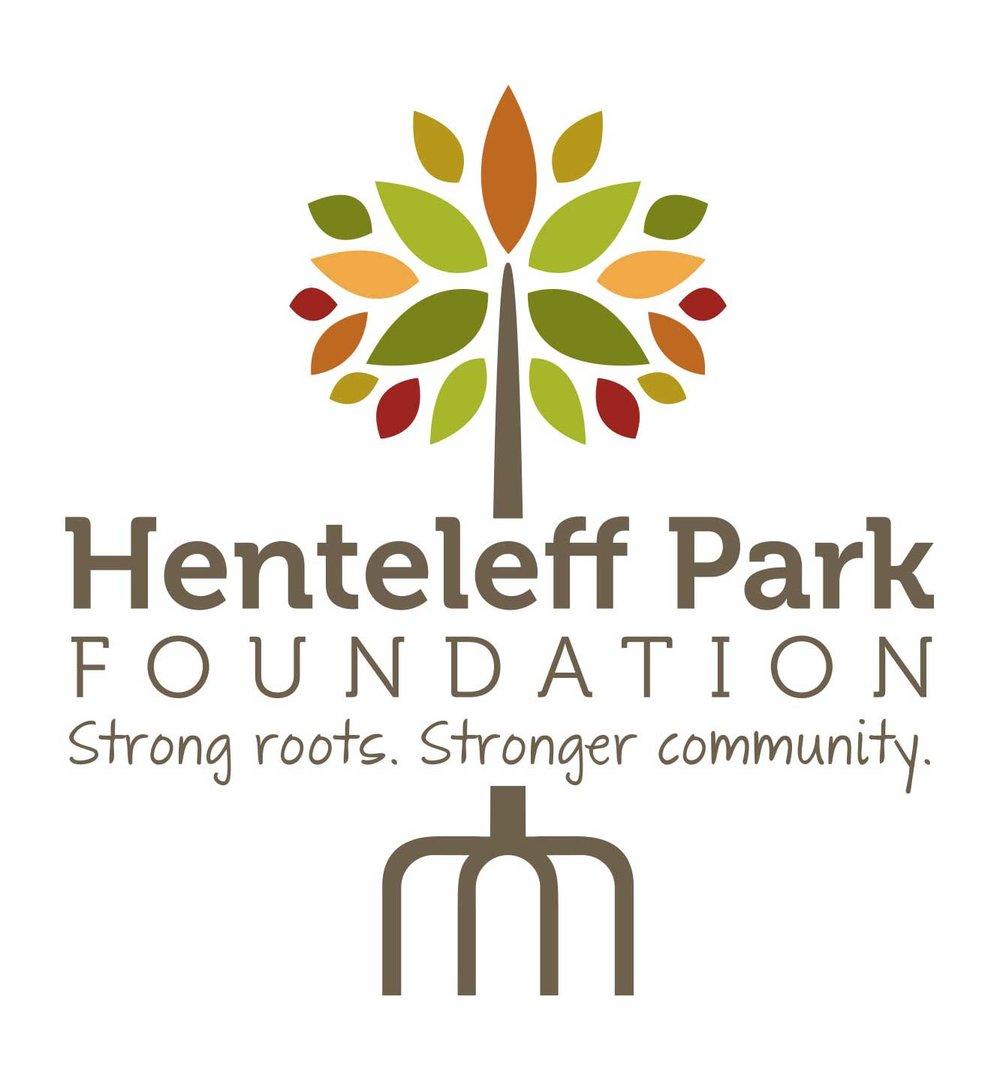 The Henteleff Park interpretive signage colour scheme was based on the Henteleff Park logo design.