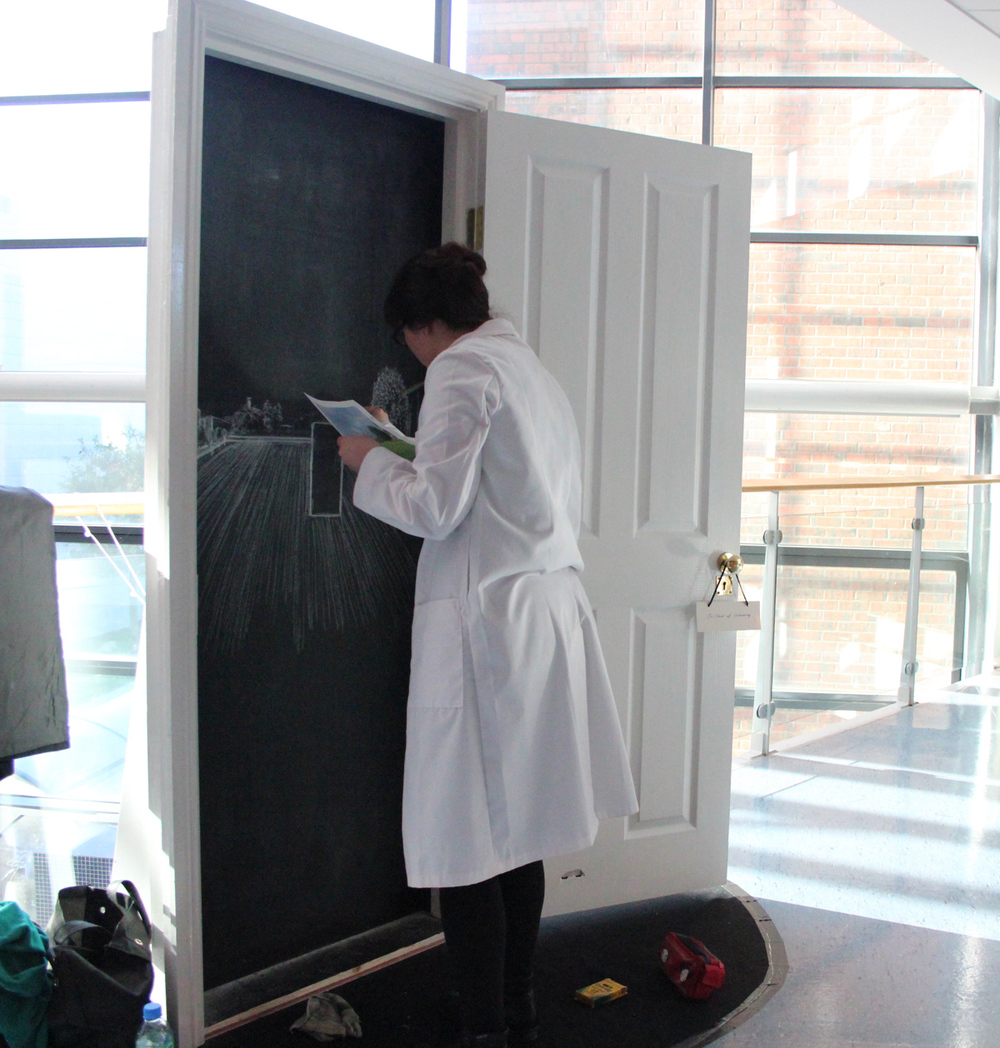 Today I started wearing the lab coat I should have been wearing from the beginning.