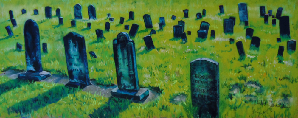 """""""History""""pastel, 12x5""""  AVAILABLE / $275"""