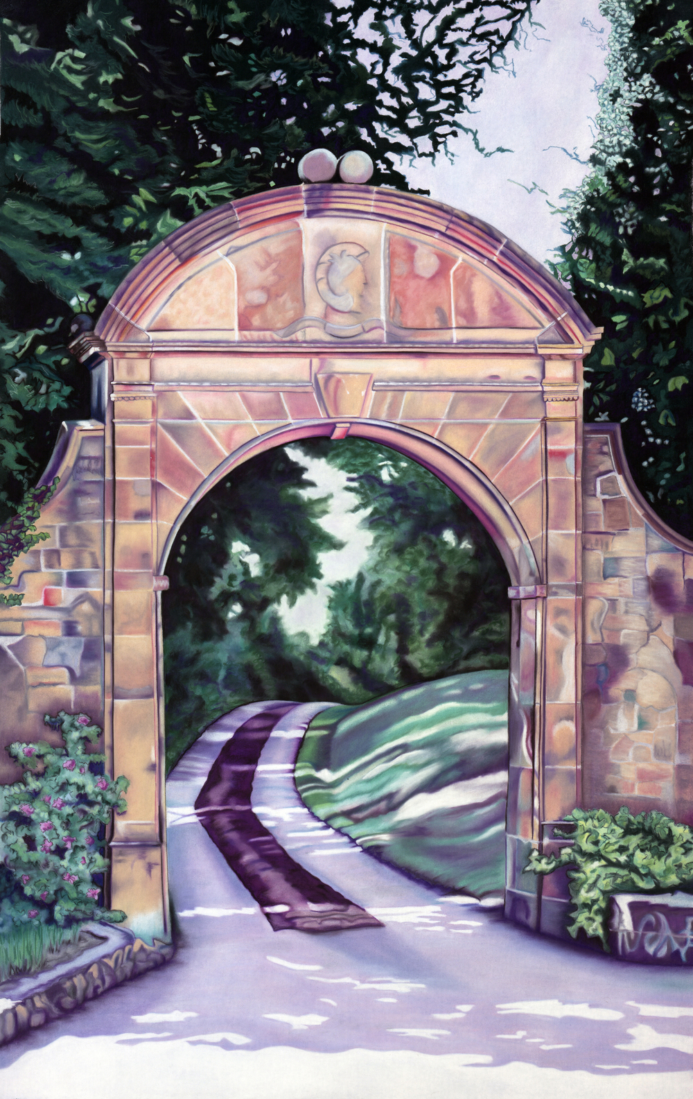 """Archway"" pastel, 55x84"""