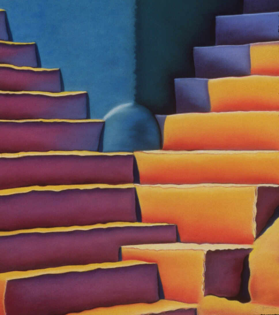 """Portico"" pastel, 20x24"""