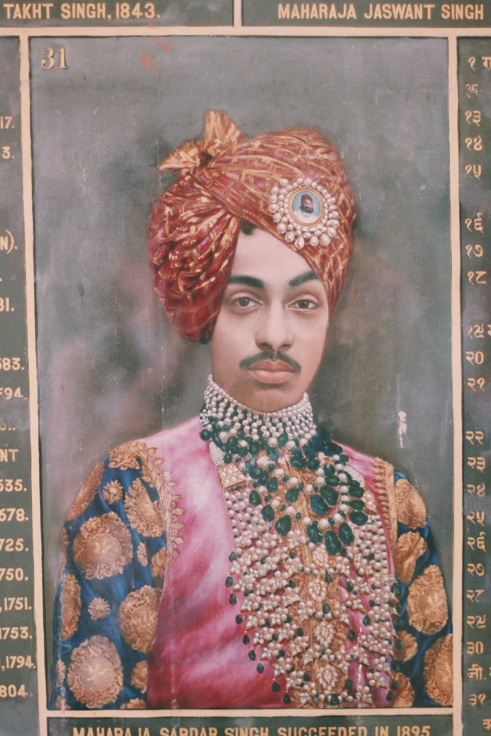 Portrait at the Mehrangarh Fort, Jodhpur